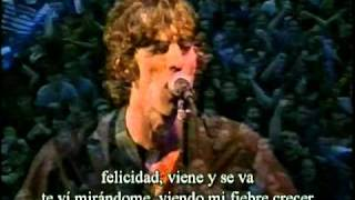 Lucky Man Subtitulada!! The Verve Live at Wigan 1998