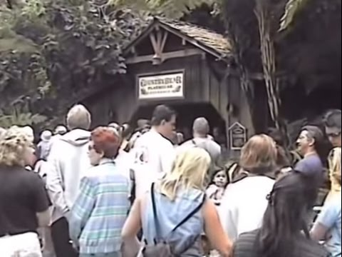 THE COUNTRY BEARS LAST DAY AND FINAL SHOW AT DISNEYLAND SEPTEMBER 9TH 2001