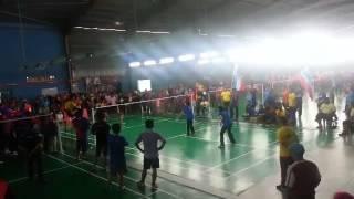 sukan kkm melaka 2014 acara badminton