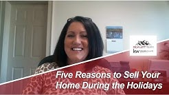 Southern Maine Real Estate Agent: Five Reasons to Sell This Winter