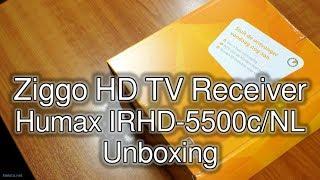 Unboxing Ziggo Digital TV Receiver (Humax IRHD-5500c/NL)