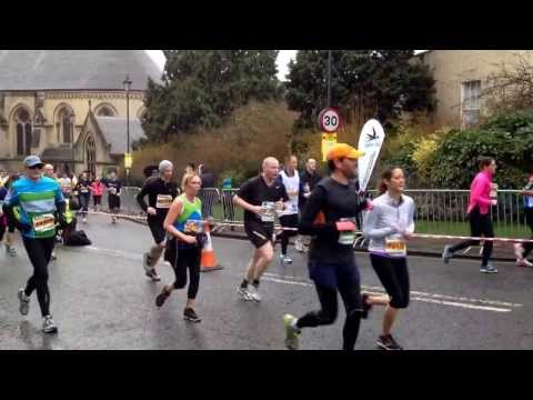 Bath Half at Queens Square about 60 minutes from start