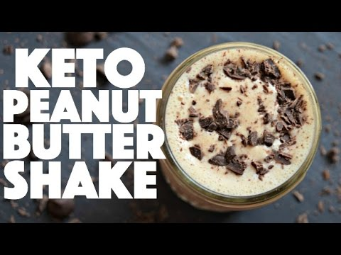 Keto Chocolate Peanut Butter Protein Shake - Healthy ...