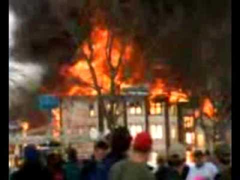 Fire At Adventureland Park Iowa 2010 Youtube