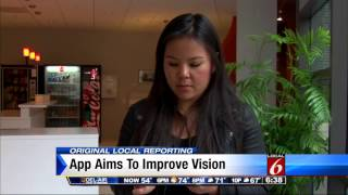 App claims to improve your vision