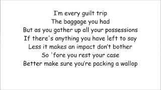Eminem - Bad Guy (4th Verse) Lyrics on Screen