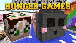 Minecraft: SO KAWAII HUNGER GAMES - Lucky Block Mod - Modded Mini-Game