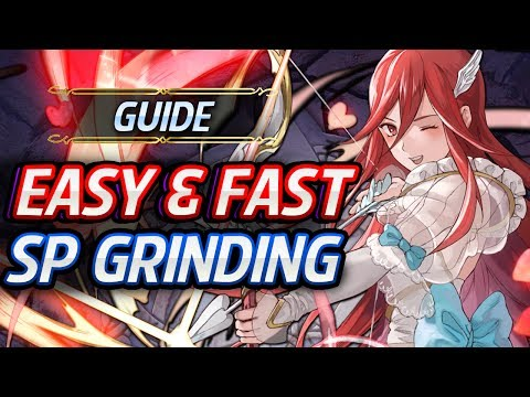 Fire Emblem Heroes - How To Grind For SP VERY Easily & FAST!