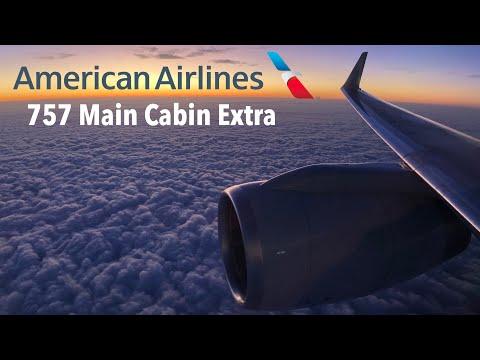 AMERICAN Airlines B757 Main Cabin EXTRA: AA1226 Miami To Dallas