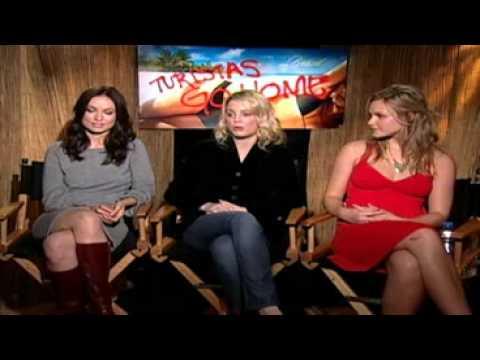 Olivia Wilde, Melissa George & Beau Garrett  for