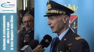 Cerimonia di avvicendamento alla carica di capo di Stato Maggiore della Difesa