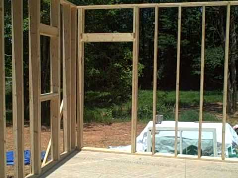 first floor wall framing building my house real cheap