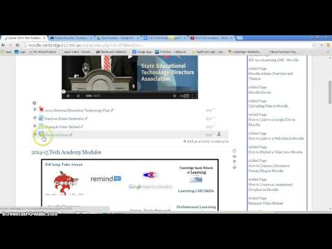 How to create a discussion forum/blog in Moodle
