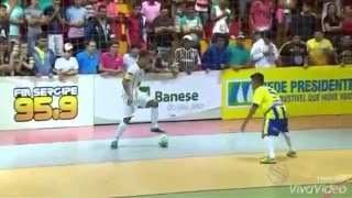 Show de Vassoura na Copa TV Sergipe Futsal 2015