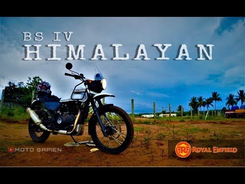 Royal Enfield Himalayan BS4 | First Ride impression| Quick Review | Go Pro | MOTO SAPIEN |