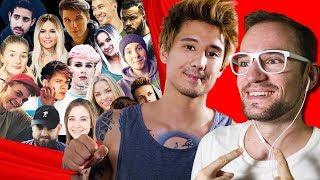 105 YOUTUBER VEREINT und ich bin dabei! | Julien Bam | REACTION + Outtakes