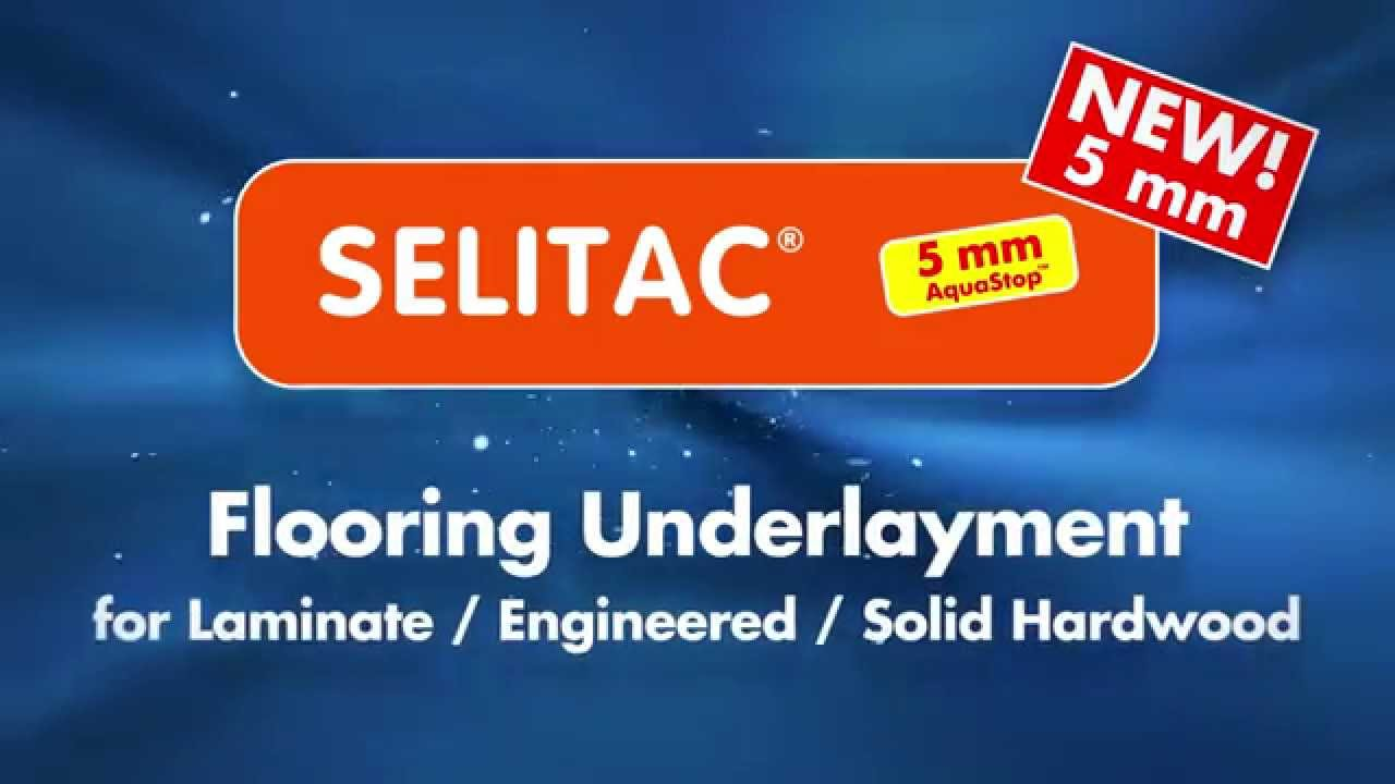 selitac 5 mm aquastop - youtube