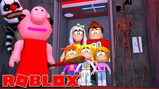 Roblox | Family Rides The Insane Elevator!