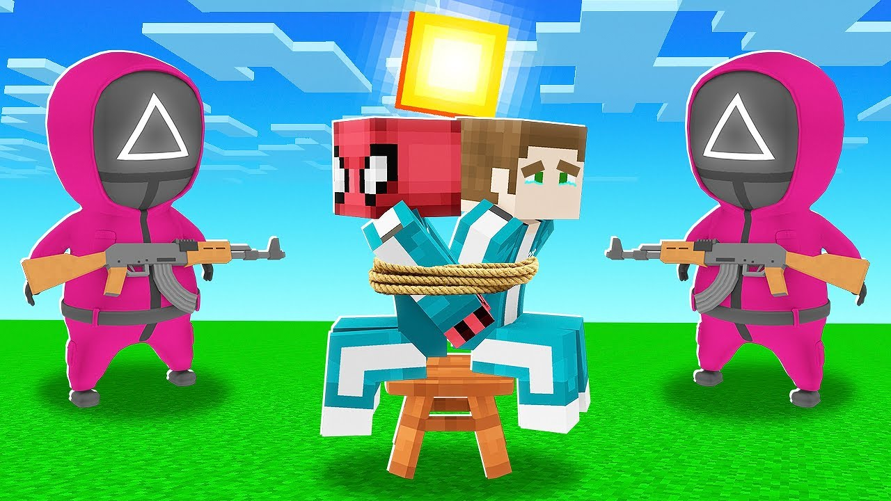 Download SQUID GAME BİZİ KAÇIRDI - Minecraft