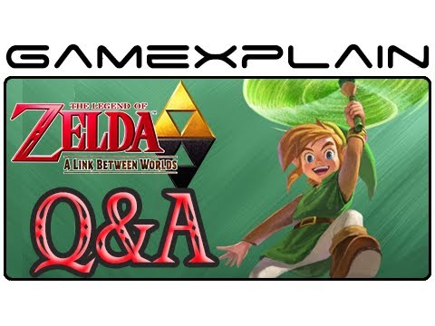 Zelda: A Link Between Worlds Q&A - Your Questions Answered! (Similarities, Ravio, and more!)