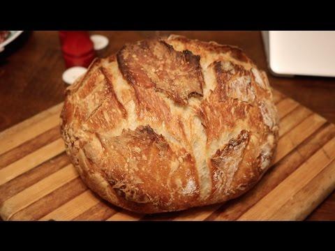 No Knead Bread Cooking With Mom Easy Bread Recipe