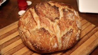 No Knead Bread | Cooking with Mom | Easy Bread Recipe