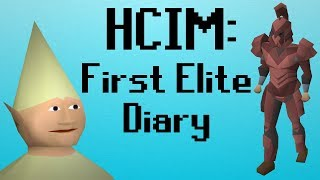 [OSRS] HCIM 141: First Elite Diary (1983/2277)