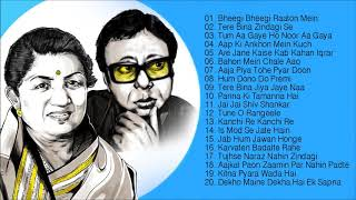 20 Times Lata Sang For RD Burman | Lata Mangeshkar Songs | Audio Jukebox