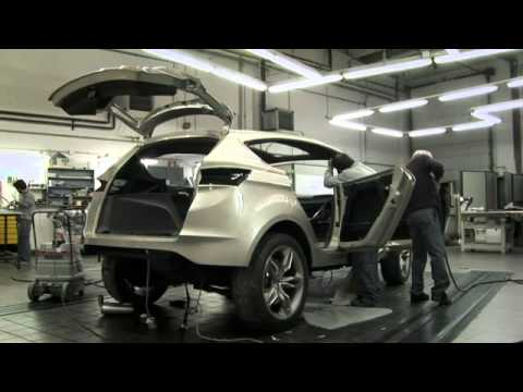 the new ford vertrek concept 2012 ford kuga crossover. Black Bedroom Furniture Sets. Home Design Ideas