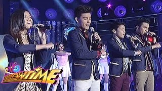 PBB 737 Teen Big Four Ylona, Bailey, Jimboy and Franco perform on It