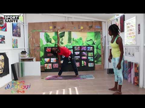 Yoga Haiti.. Sport sante