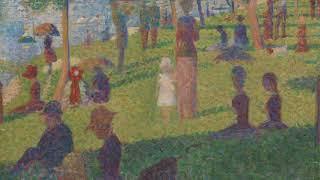"We Know Art - Study for ""A Sunday on La Grande Jatte"""