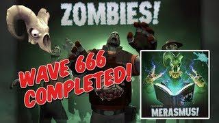 TF2 - Wave 666 Win! - Merasmus Boss & Skull Island Hat (Team Fortress 2 - Halloween Update)