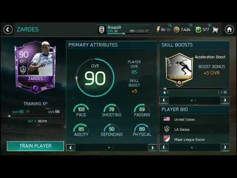 Zardes 90 OVR!!! FIFA 18 Mobile