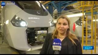 الشروق نيوز تزور مصنع الستوم الفرنسي المصنع لـ 17 قطار للجزائر