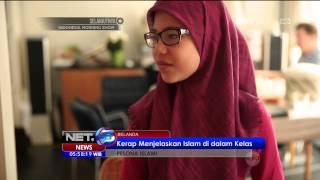 Pesona Islami di Belanda, Jasmijne Bangga dengan Keislamannya …