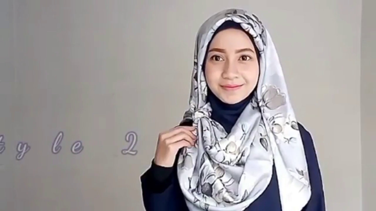 Modern Hijab Fashion Style Part 2 Youtube
