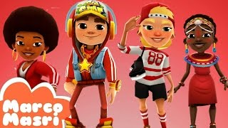 Subway Surfers Red Pack | JAKE, FRIZZY, ZURI and OLIVIA