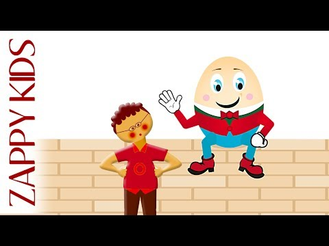 HUMPTY DUMPTY  Nursery Songs Lyrics  Childrens Songs Lyrics Nursery Rhymes Video  Compilation