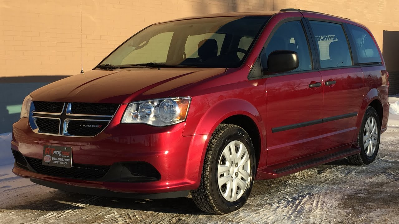 2014 dodge grand caravan se rear heat air conditioning super low kms huge value youtube. Black Bedroom Furniture Sets. Home Design Ideas