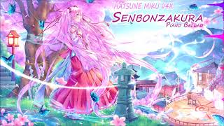 Hatsune Miku V4x Senbonzakura Piano Ballad V5 Cover