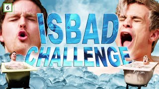 Hvem er best til å isbade - FLIPPKLIPP-CHALLENGE!