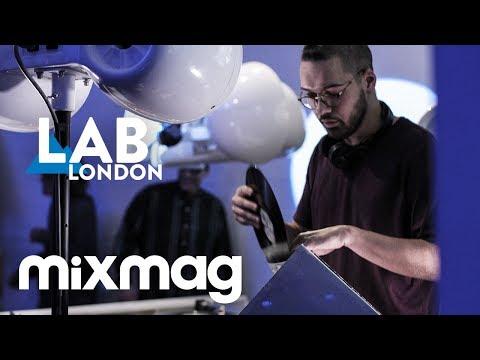 DJRUM jungle to techno set in The Lab LDN