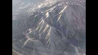 Frontier Airlines take off from Provo Utah