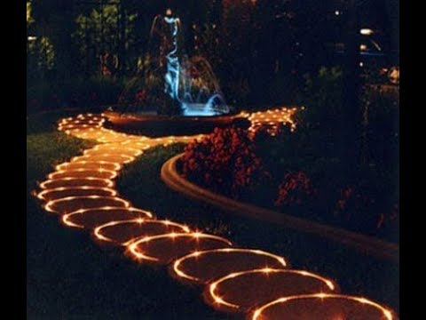 Garden lightening ideas