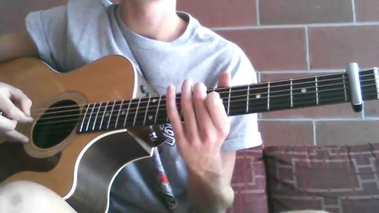 Download Hillsong United Stay and Wait - Acoustic Guitar Riff Tutorial