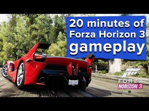 20 minutes of Forza Horizon 3 Xbox One gameplay