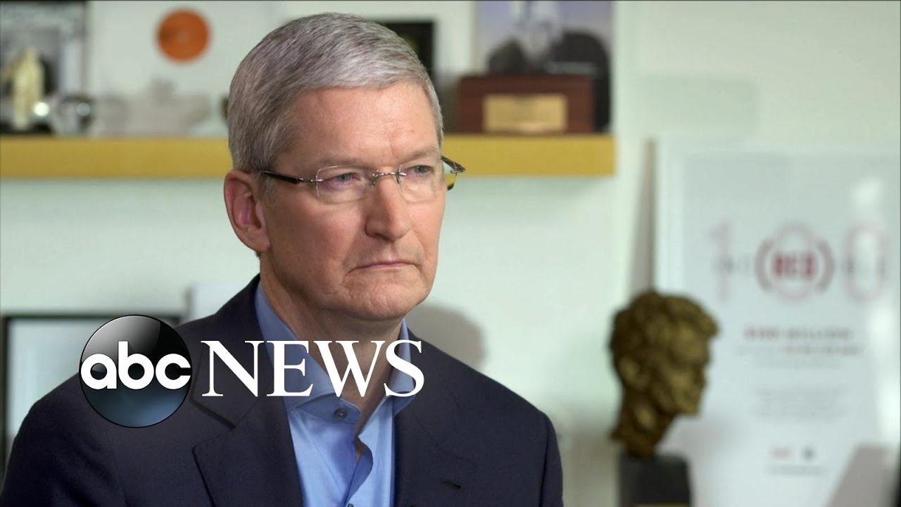 Apple CEO Tim Cook Speaks Exclusively With David Muir