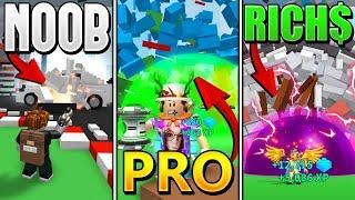 ROBLOX NOOB VS PRO VS BILLIONAIRE - ROBLOX DESTRUCTION SIMULATOR *FUNNY*!