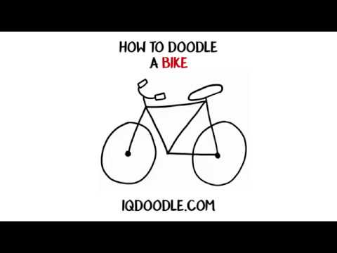 How to Draw a Bike (drawing tips)